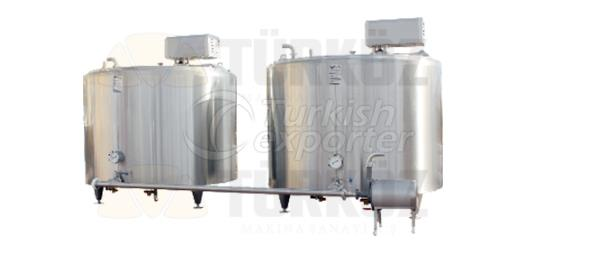 Steam Heated Pasteurizer Tank