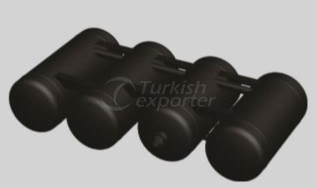 TMS Quattro Cylindrical LPG Tanks