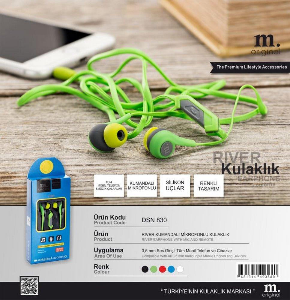 Dsn 830 River Headphones