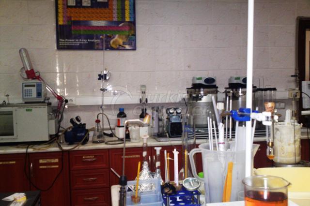 مختبر لمصنع زيوت معدنية