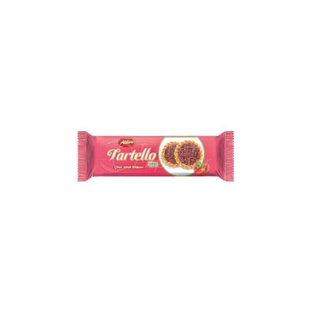 Tartello Biscuits With Strawberry Jelly
