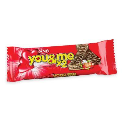 Çikolata Kaplı Gofretler