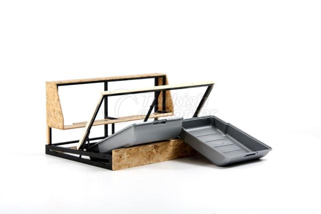 Basket-Portable Plastic Base