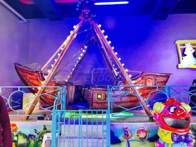 Máquinas de parque de diversões