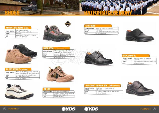 Military and Police Shoes