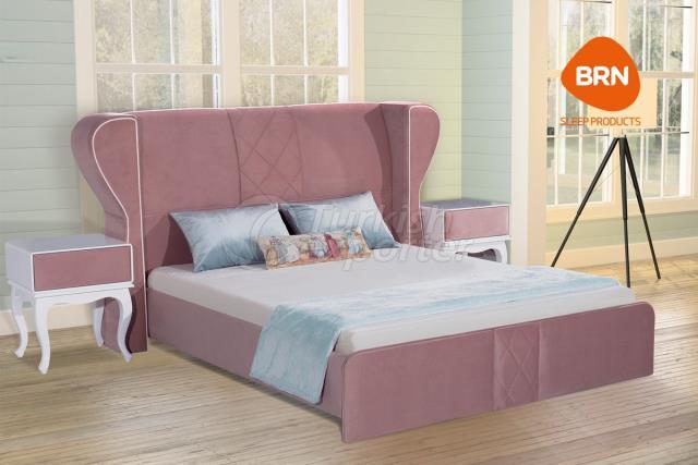 طقم سرير كلاسيكي برستيج وردي