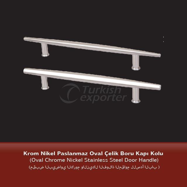 Stainless Steel Pipe Oval Door Handle