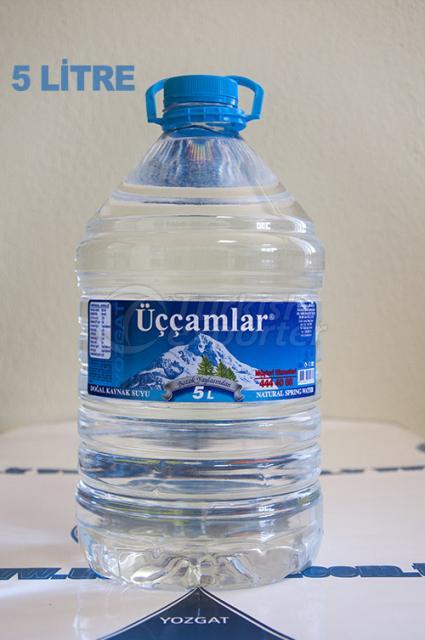 مياه ينابيع الطبيعية  5 لتر