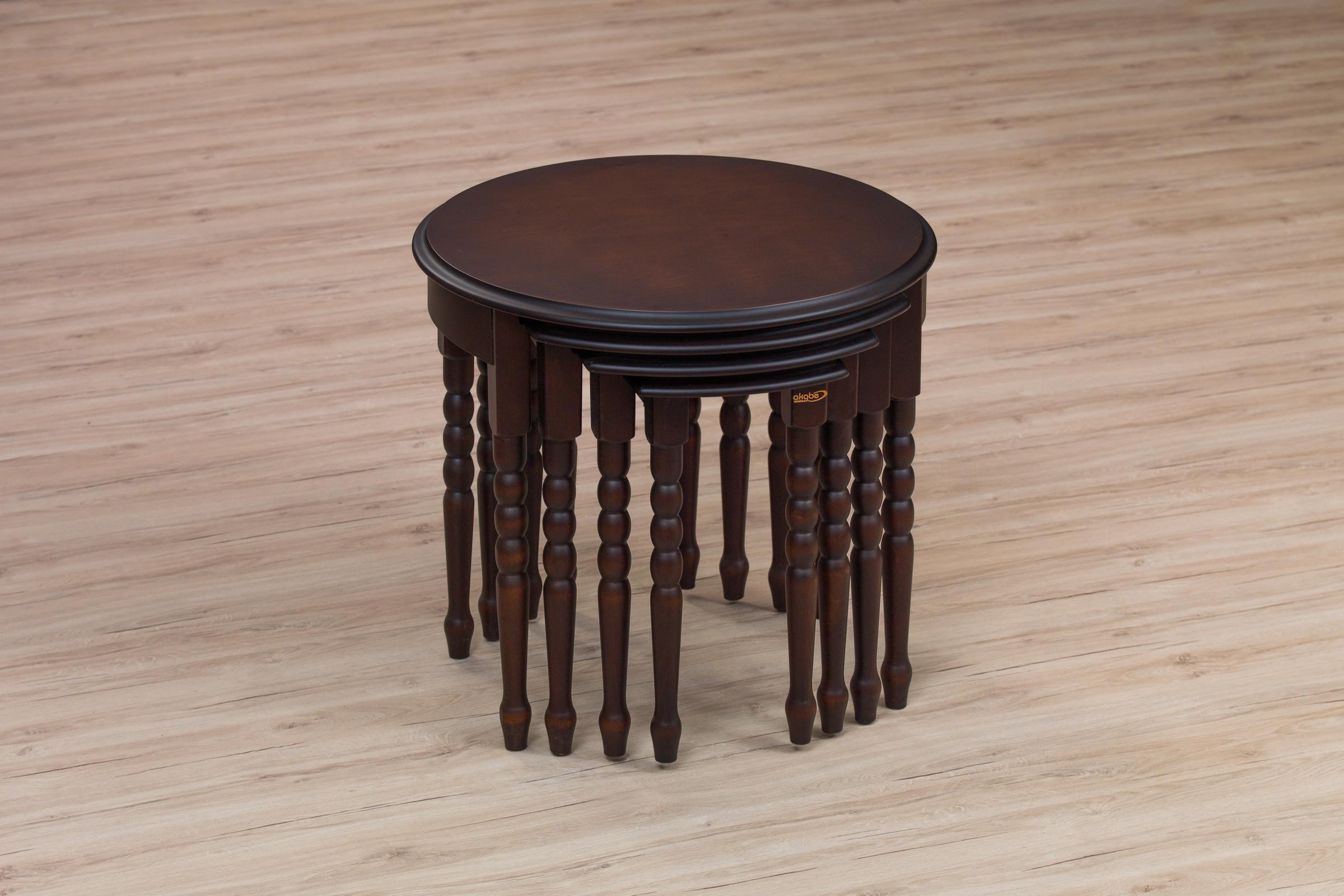 110 COFFE TABLE SET 4 PART