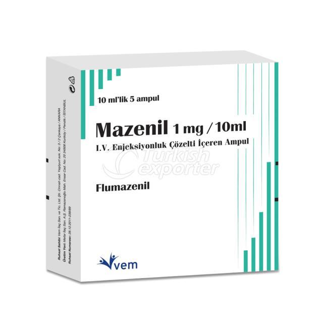 MAZENIL IV 1 MG 10 ML 5 AMPOULS