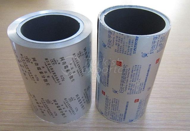 BOPP/AL/PE pharmaceutical film