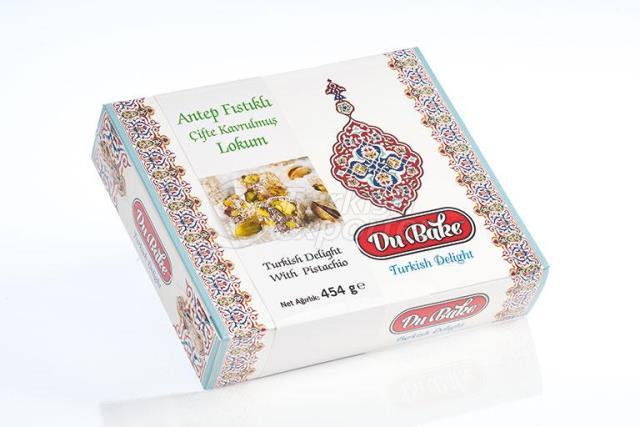Turkish Delight With Double Pistachio