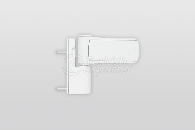 ZM007 Zamak Adjustable Door Hinge