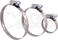 Non Perforated Hose Clamps