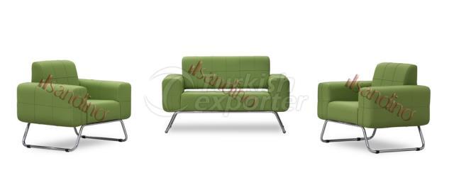 Efsane Sofa Set