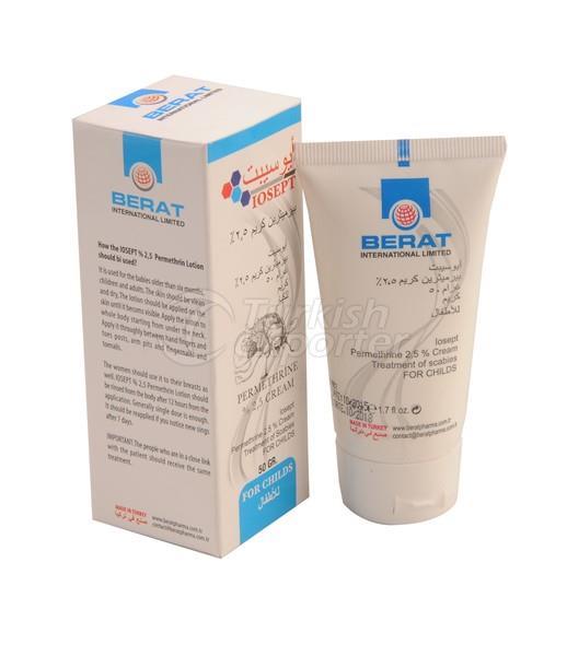 permethrin % 2,5 scabies cream