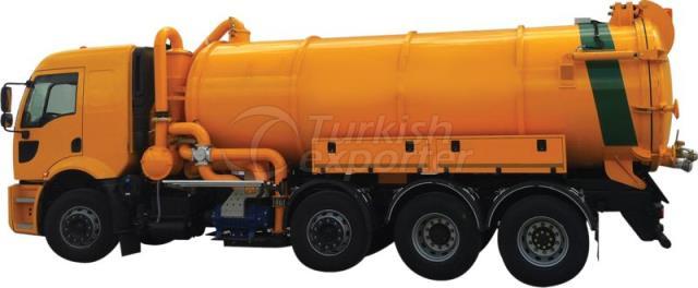 Eko Type Sewer Vacuum Vehicle
