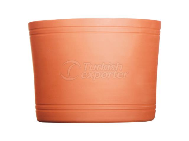 Terracotta Pots Cylinder