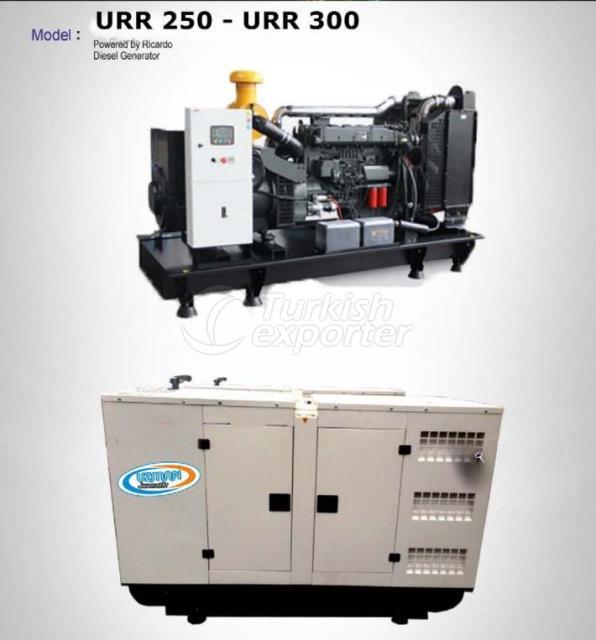 Diesel Generator - URR 250 - URR 300