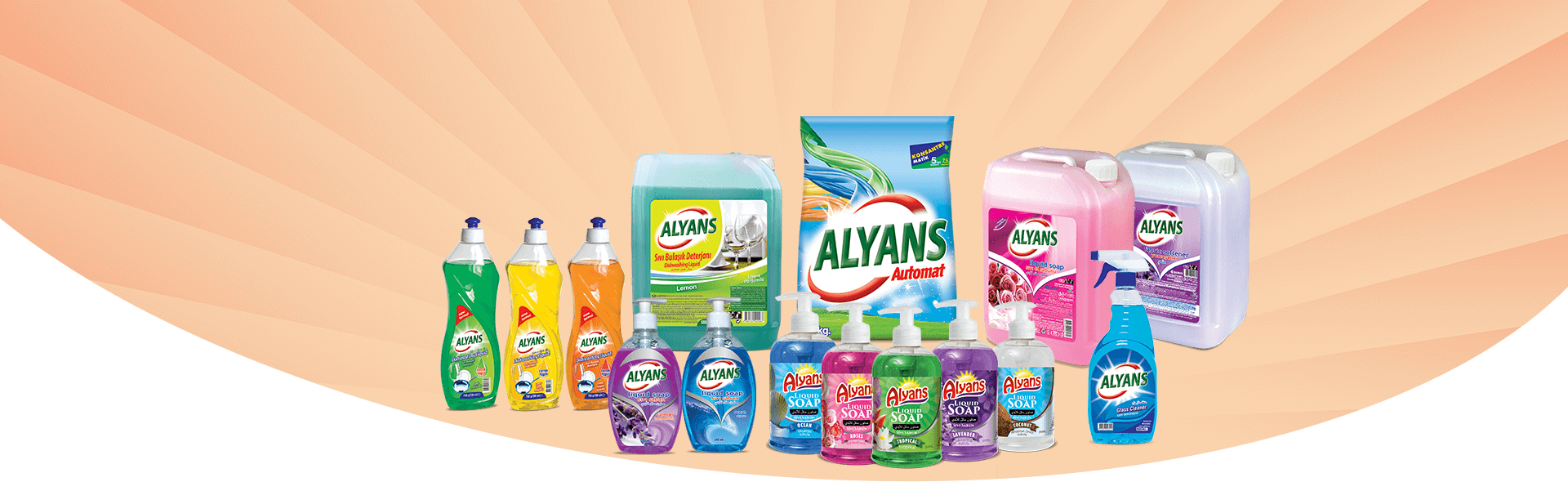 Alyans Cleaning Products