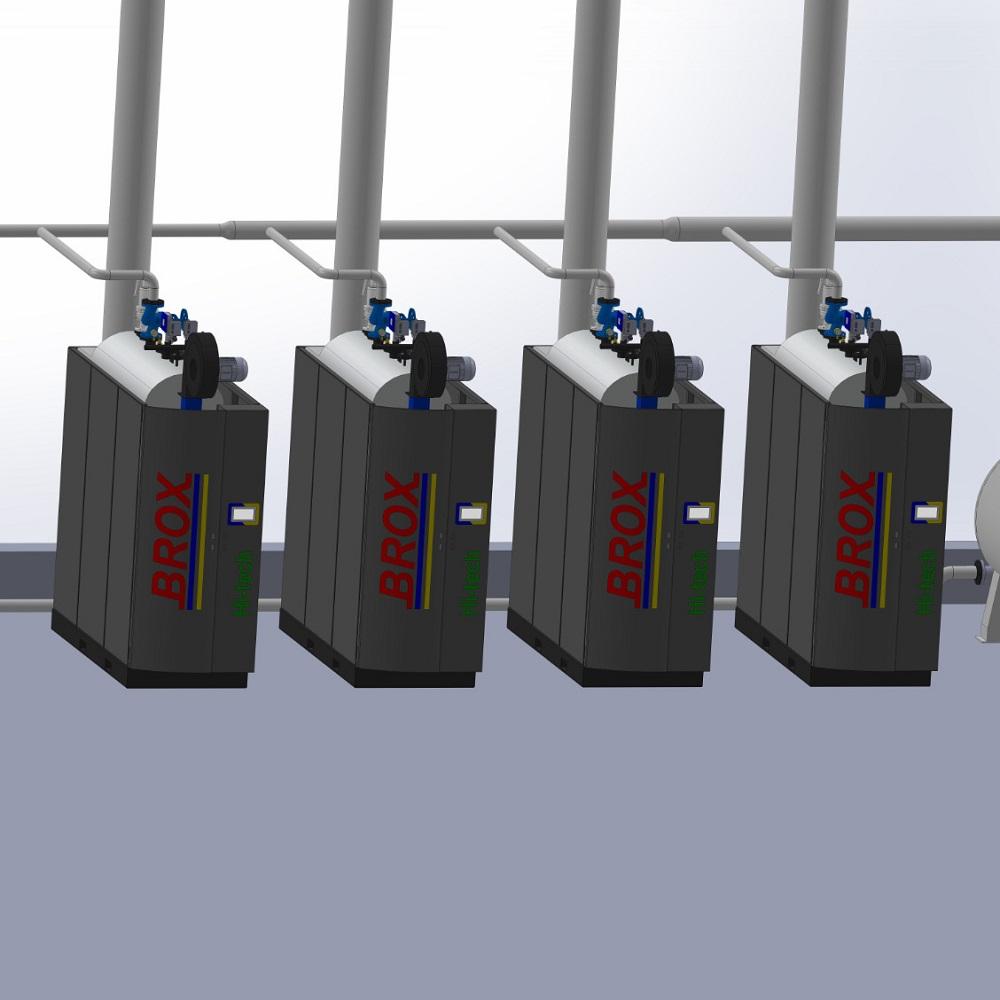 Caldeira a vapor de nova geração de alta eficiência