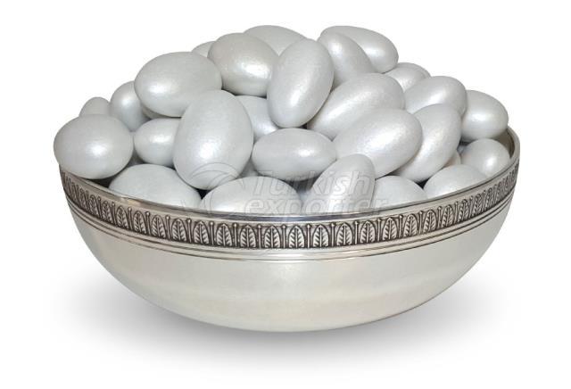 Chocolate Amêndoa Drageia Branco 1302