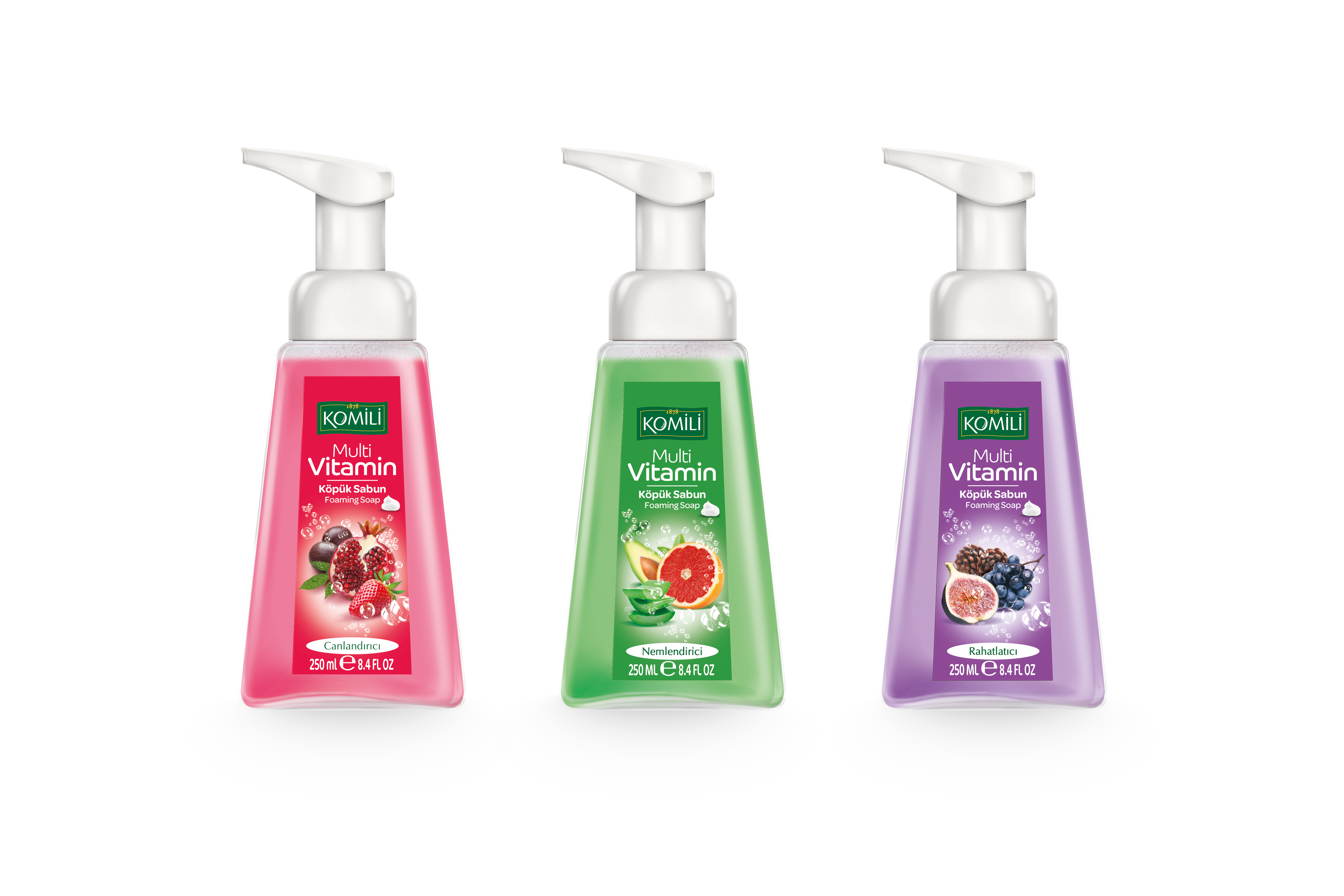 Komili Multi Vitamin Foam Soap