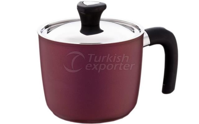 Lilac Milkpot