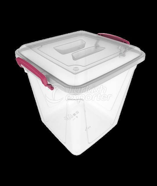 Deep Storage Box 11 lt /transparent