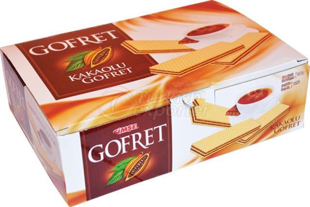 Wafer with Cocoa Cream