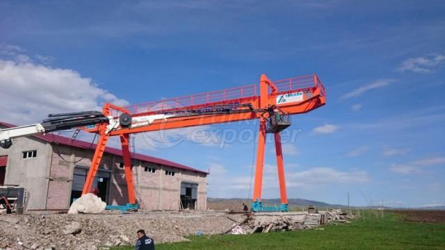 Gantry Crane Manufacturer in Turkey