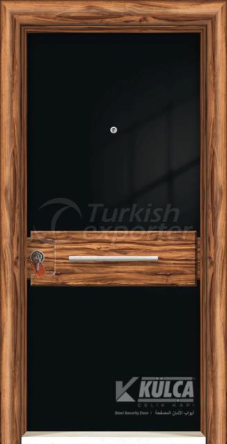 D-2003 ( PVC STEEL DOOR )