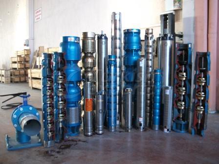 submersible pump and motors