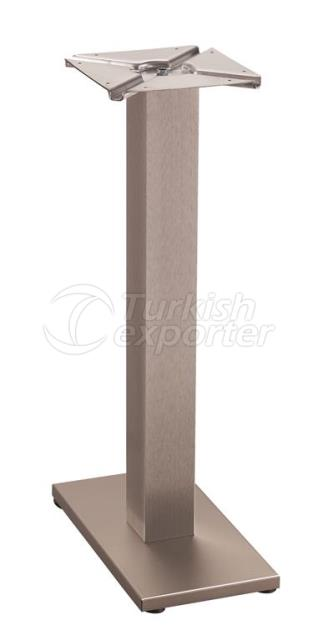 MSS-BLD-TL 38X20-Table Leg Satin