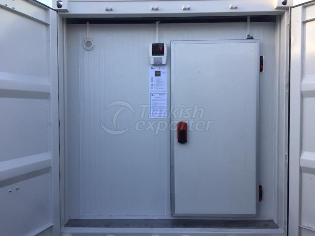 Tipo de contenedor de almacenamiento en frío