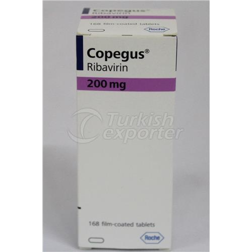 COPEGUS 200 MG 42 TABLETS AND 168 T