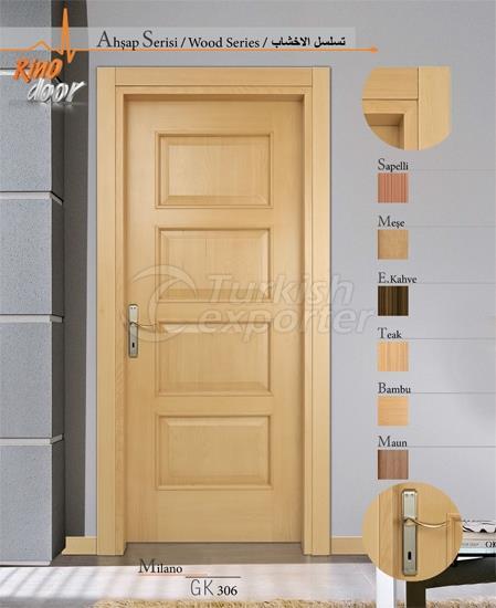Деревянные двери - Милан