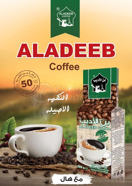 ALADEEB COFFEE WITH CARDAMOM