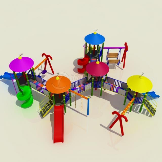 Metal Kids Playground BAB-P-14015