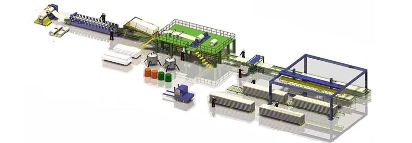 EPS Panel Production line