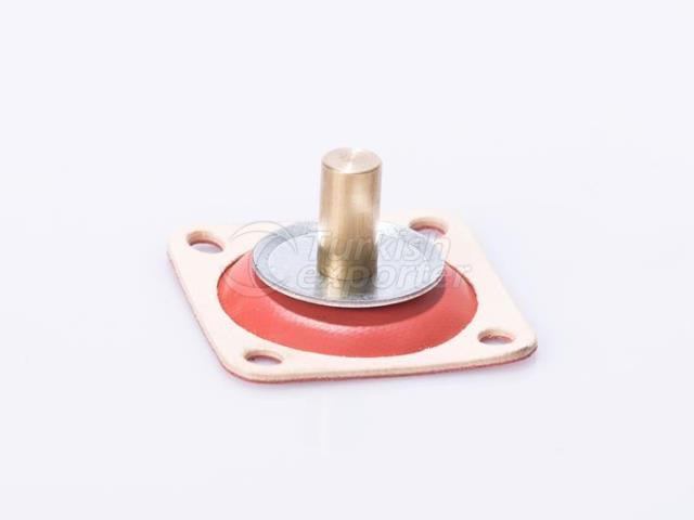 Diaphragme de régulateur de pression de carburant