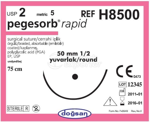خيوط قابلة للامتصاص H8500