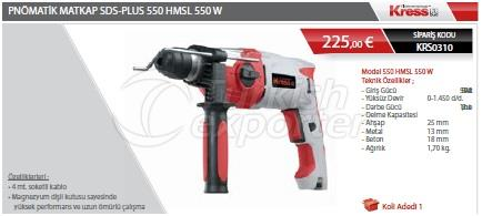 Pneumatic Drill 550 HMSL