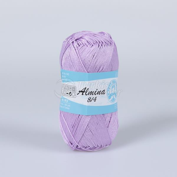 Almina Mercerised Cotton Yarn %100