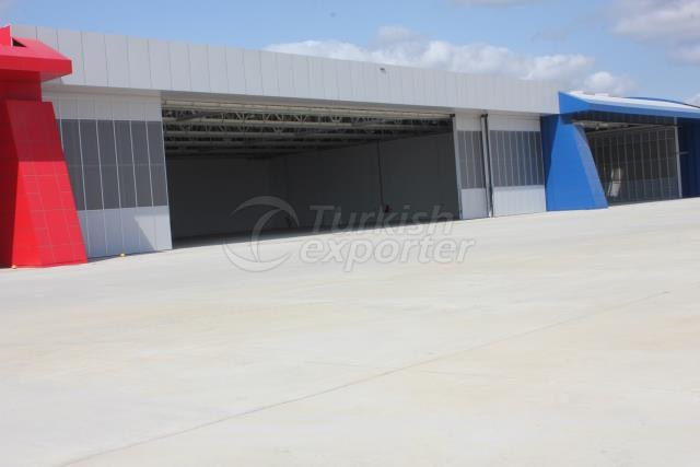 Telescopic Hangar Door