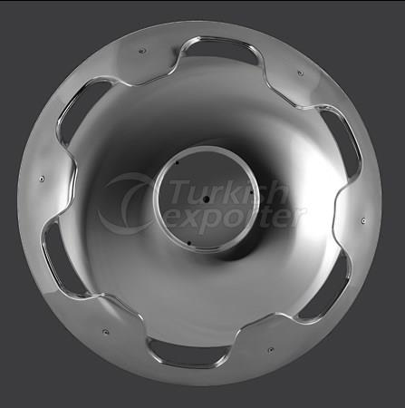 Travego Wheel Cover Stainless