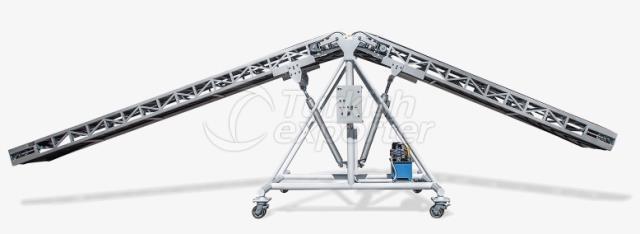 Hydraulically Adjustable Twin Belt Truck