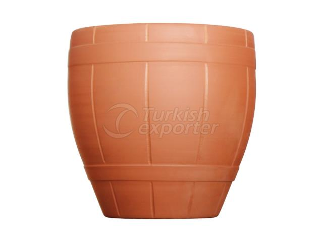 Terracotta Pots Barrel