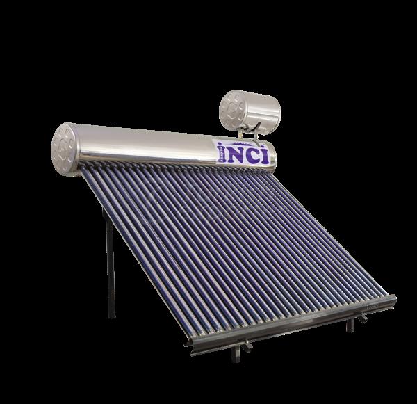 30 Vacuum Tubes 30 LT Chrome Solar Water Heater