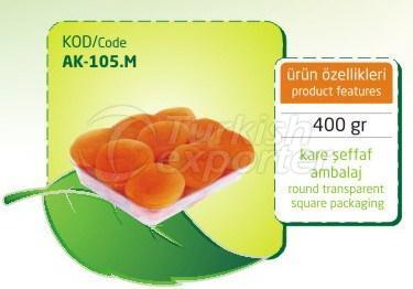Albaricoque seco sulfuroso AK 105 M 400gr